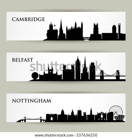 united kingdom skylines