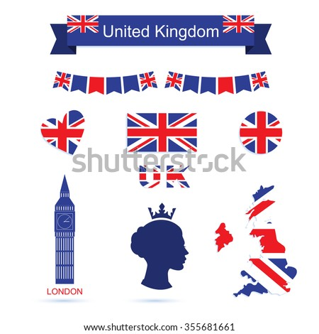 united kingdom symbols uk flag