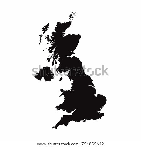 United Kingdom vector country map