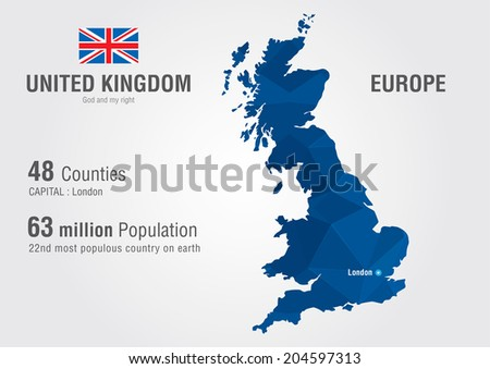 Mapa vectorial libre de reino unido united kingdom world map england map with a pixel diamond texture world geography gumiabroncs Choice Image