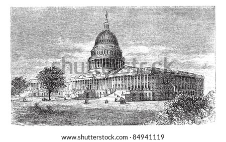 united states capitol  in...