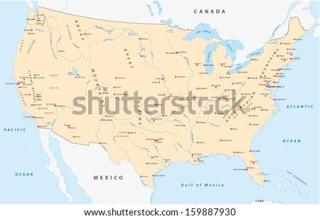 united states map #159887930