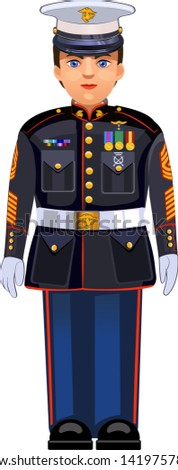 united states marine dress blue