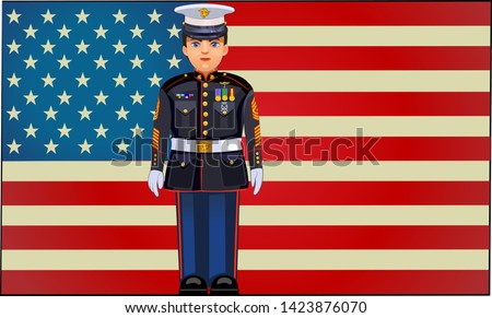 united states marine dress blue