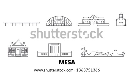 united states  mesa line travel