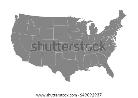 United States national map