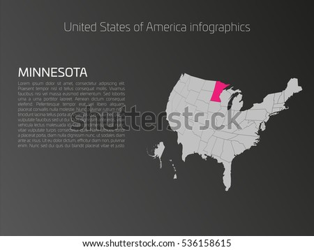 Label States On Us Map Globalinterco - Labeled us map vector