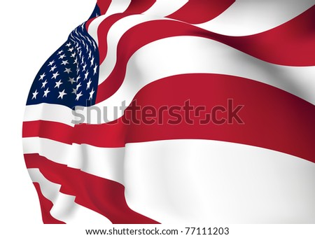 United States of America VECTOR Flag