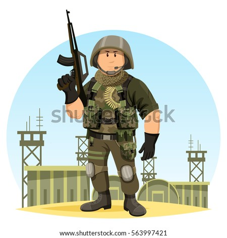 united states or us soldier in