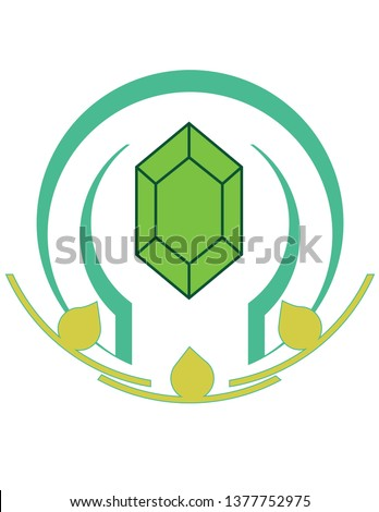 Unity Crystal Logo Element