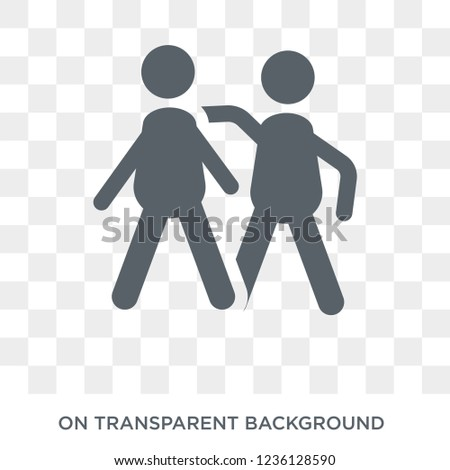 Unity icon. Unity design concept from Political collection. Simple element vector illustration on transparent background.
