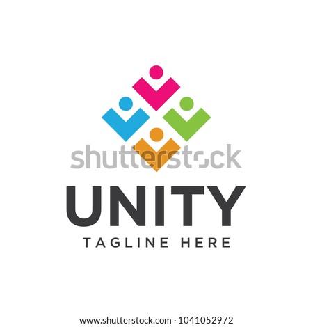 unity logo design template