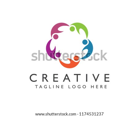 unity logo | unity icon | vector | for template