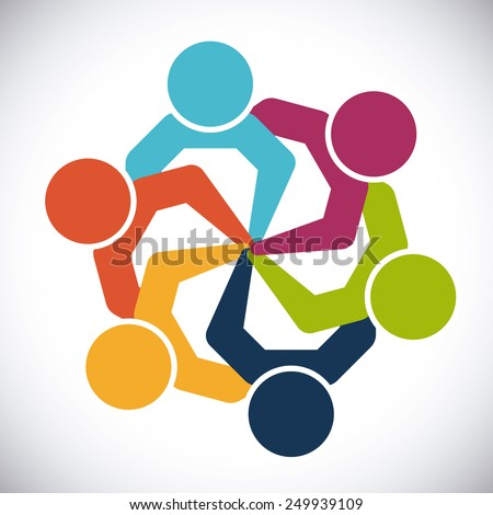 unity people design  vector