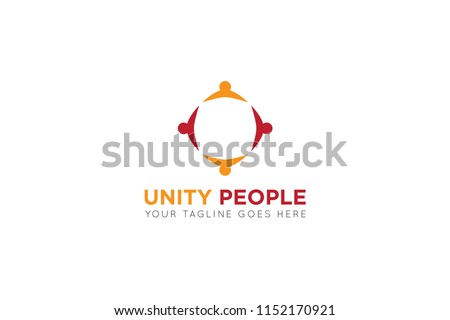 unity people logo, icon, symbol