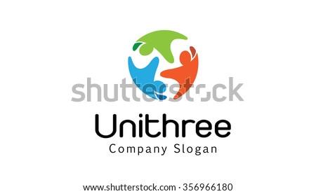 Unity Three Design Illustration