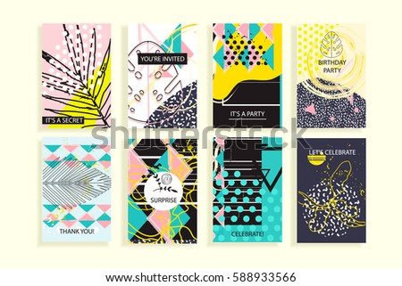 universal floral posters set