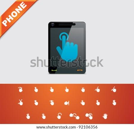 Universal glyphs 19. Phone symbols 6