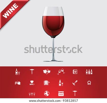 Universal glyphs 24. Wine