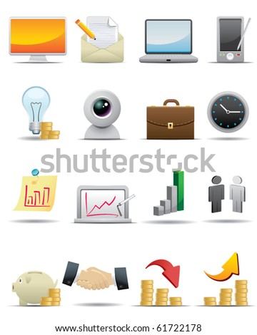 Universal icons Set -- Business Concept Icon