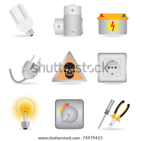 Universal icons. Vector illustration
