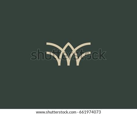 universal linear logo design