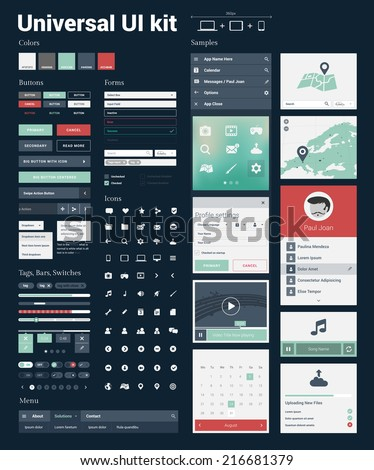 universal ui kit for designing