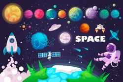 universe. space. space trip. design. vector illustration