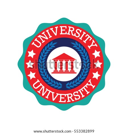 University, Academy, School and Course logo design template