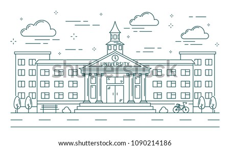 university line building