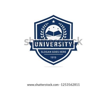 University logo template