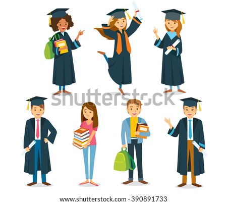 university students graduation