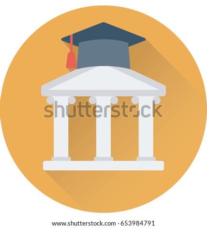 University Vector Icon