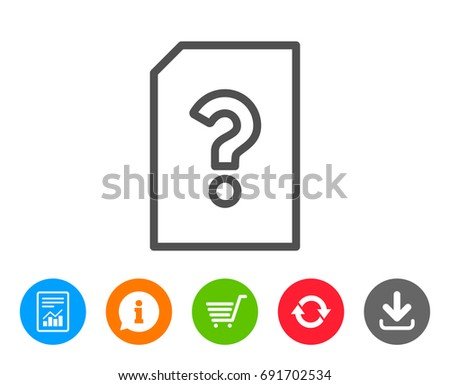 unknown document line icon