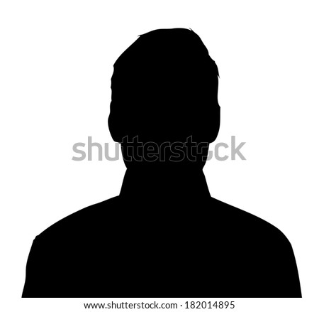 Unknown male person illustration