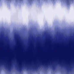 Unnatural different digital tie dye like psychedelic grungy indigo navy blue seamless repeat vector eps 10 pattern swatch.