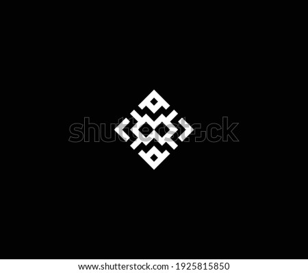 Unusual creative modern stylish connected fashion brands black and gold color AM MA A M initial based leter icon logo.
