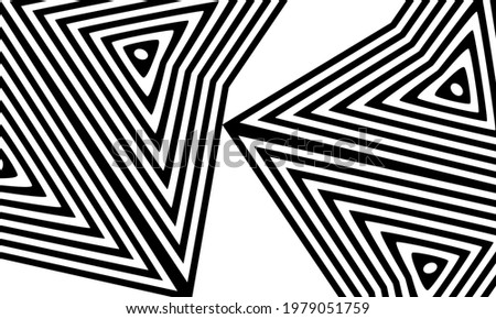 unusual patterns in op art style creative wallpaper for design