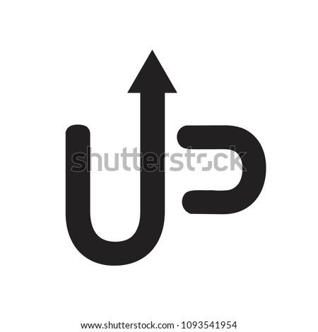 Up Logo. Idea logo. Start up.