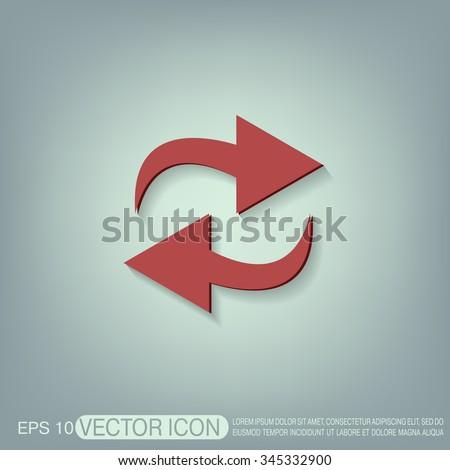 update arrow sign #345332900