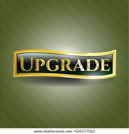 Upgrade gold emblem or badge