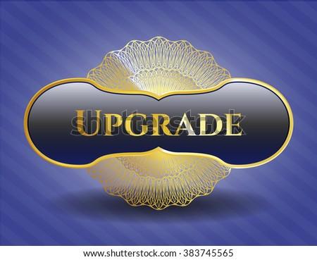 Upgrade golden emblem