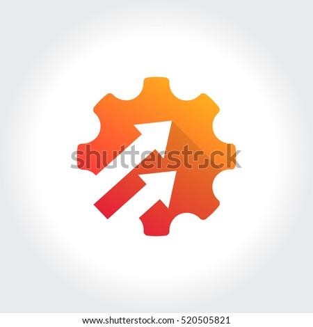 Upgrade Setting, Cog Wheel, Gear Symbol