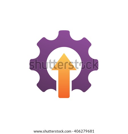 Upgrade Setting, Cog Wheel Symbol