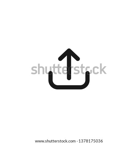 Upload Icon, Flat Icon, Vector Icon, Download Photo stock ©