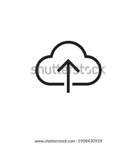 upload icon symbol sign vector