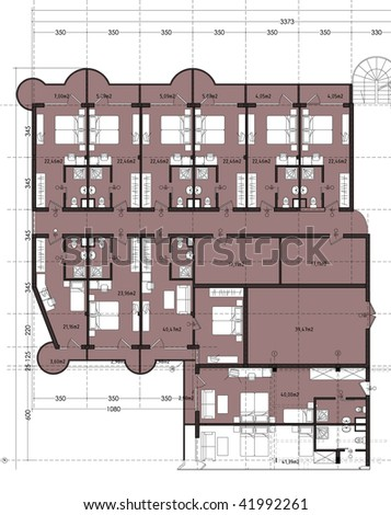 upper floor of hotel building