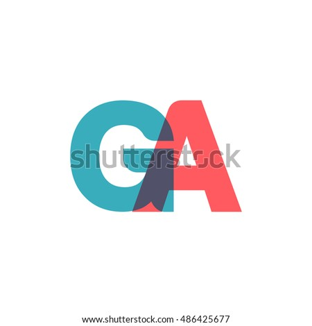 uppercase ga logo  modern