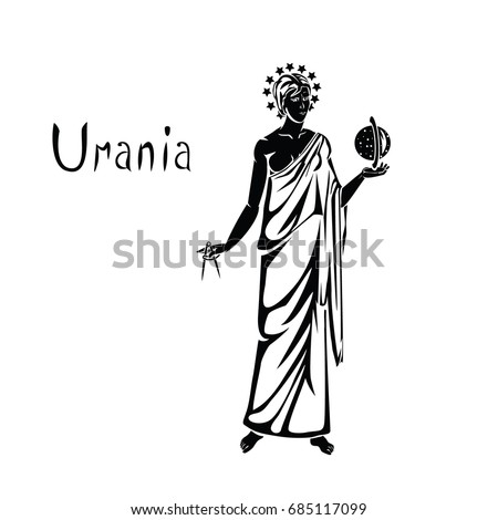 urania the muse of astronomy in