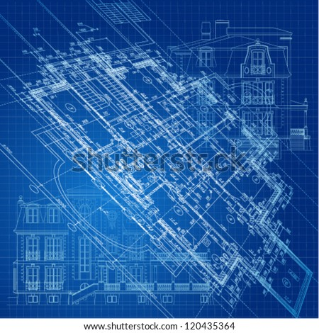 Royalty free stock photos and images urban blueprint vector urban blueprint vector architectural background malvernweather Gallery